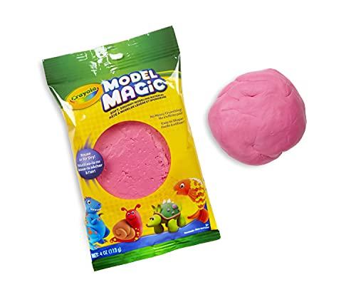 Crayola Modèle Magic en rose framboise, alternative à l'argile à modeler, 113,4 g (CY57–4486)