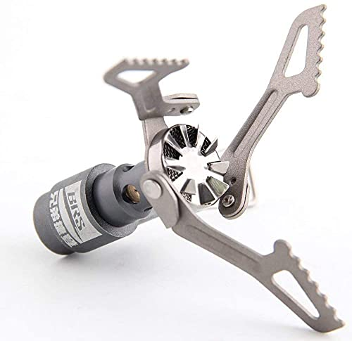 BRS Stove BRS 3000T Stove Ultralight Titanium Backpacking Stove Portable Propane Camping Stove Only 26g