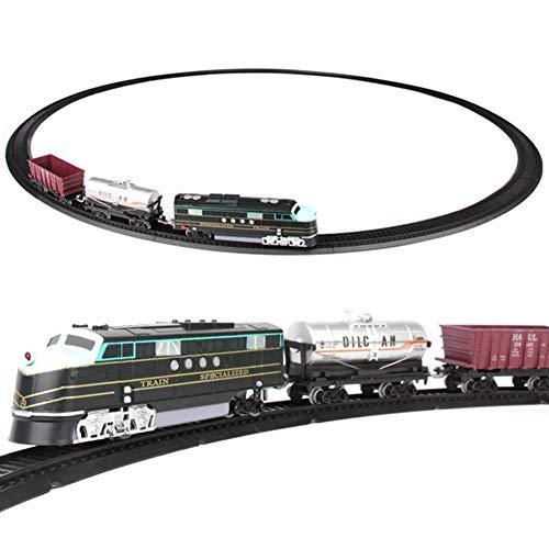 City Trains Personenzug-Set, Hochgeschwindigkeits-Personenzug-Kit Super Long Model Kinder-Hochgeschwindigkeits-Schienenspielzeug, Gleise und Zubehör