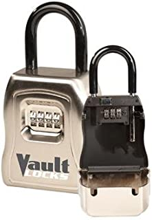Vault Locks 5500 Key Storage Box with Seperate Locking Shackle Set-Your-own Combination
