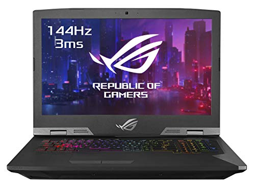 Asus ROG GRIFFINGZ755GXREV014T PC Portable Gamer 17.3' FHD Dalle 144Hz (Intel Core i79750H, RAM 32Go DDR4, HDD1 1TB5 SS8G + 512G PCIE, Nvidia RTX 2080 8G, Windows 10) Clavier AZERTY Français
