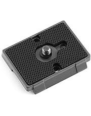Quick Release Plate Stabiele bevestiging Camera Adapter 1/4 schroefgat Perfecte match Professionele camera Fit plaat voor camera
