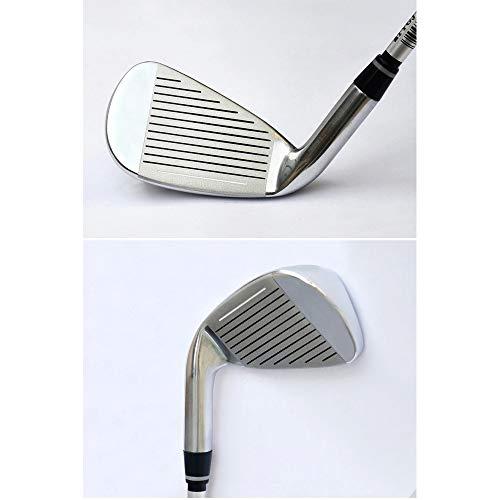 Dfghbn-HWYD Golfclub für Herren & Damen Damen Golfclubs Anfänger Irons Gruppe 4/5/6/8/9 / p/s Stabiler Langer Golf Putter Golfclub für Männer & Frauen (Farbe : Steel Rod, Größe : 9)