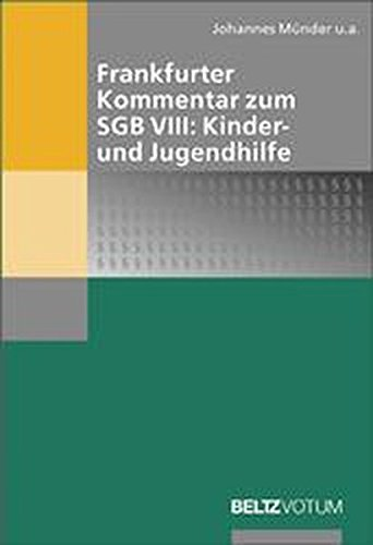 Frankfurter Kommentar zum SGB VIII: Kinder- und Jugendhilfe