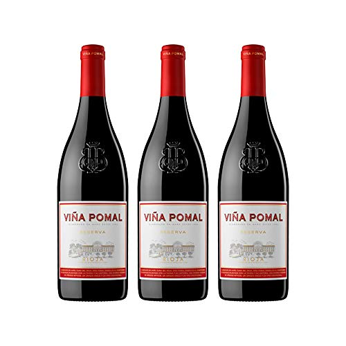 Viña Pomal | Vino Tinto Reserva Viña Pomal | Bodegas Bilbaínas | D.O.Ca. Rioja | Caja de 3 botellas de 75 cl