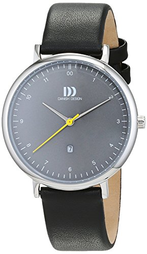 Danish Design Damen Analog Quarz Uhr mit Leder Armband 3324605