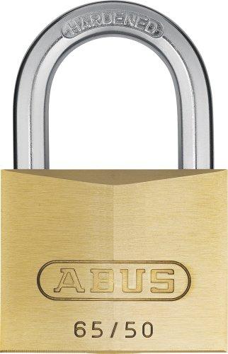 Abus - 65/50 mm messing hangslot gelijksluitend 501 - ABUKA02910