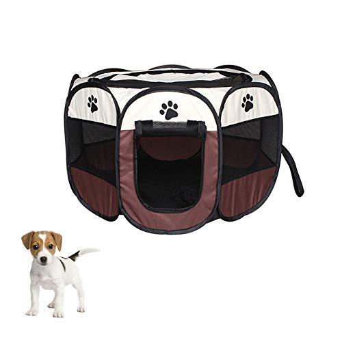 XMCWZJ huisdier bed draagbare huisdier tent vouwen hond huis kooi hond kat tent Playpen puppy Kennel eenvoudige bediening