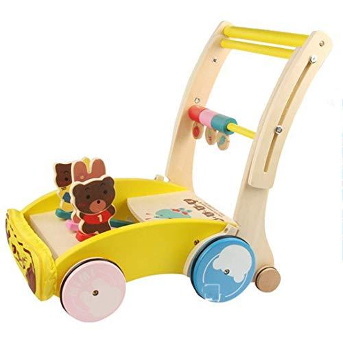 Baby Walker, Houten Karren, Young Child Puzzel Speelgoed, 0-1-3 Jaar Oude Baby Walker Verjaardagscadeau