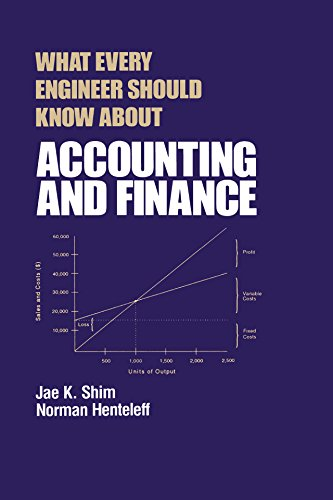 What Every Engineer Should Know about Accounting and Finance (English Edition)