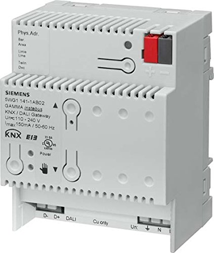 Interfaz de sistema de iluminación para domótica KNX. 5WG1141-1AB31