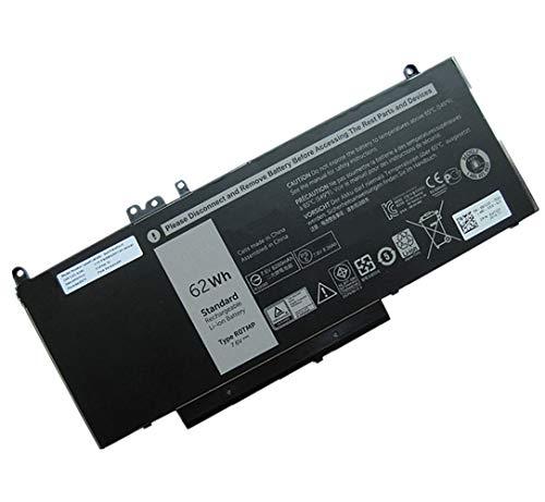 XITAI 7.6V 62Wh 6MT4T Ersatz Laptop Akku für Dell Latitude E5450 E5470 E5550 E5570 7V69Y TXF9M 79VRK 07V69Y MEHRWEG