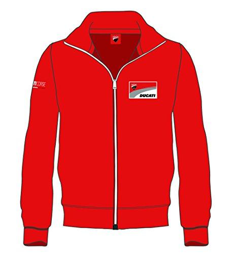 pritelli 1726001Sweatshirt Herren Logo Ducati, rot, XXL