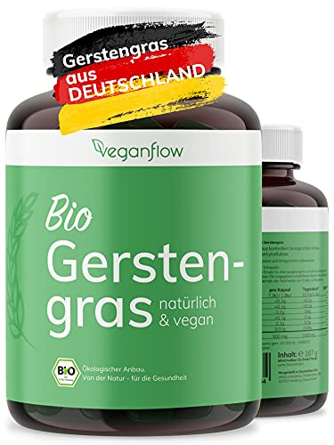 veganflow® BIO Gerstengras Kapseln,...