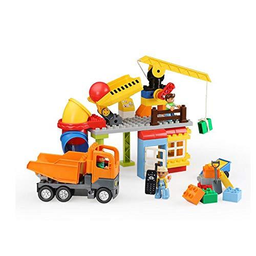 LHTY Kindersimulations-Lernspielzeug-Satz, Technik-Baustelle zusammengebaute Architektur, die lernendes Spielzeug, Intelligenz-Tätigkeits-Spielwaren stapelt