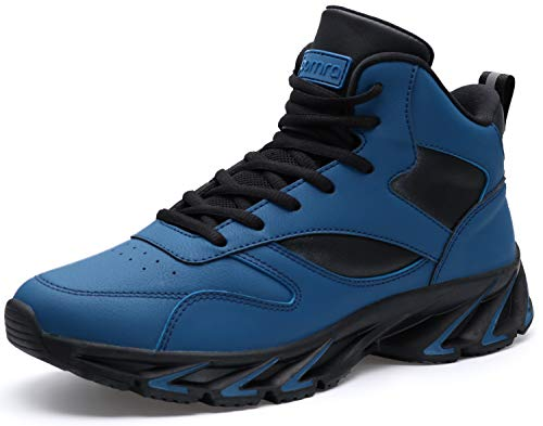 Leather Ankle High Walking Shoes for Men