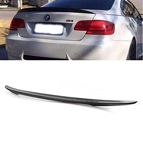 Carbon Fiber Rear Trunk Spoiler Wing Lip Fit 2007-2013 BMW E92 M3 328i 335i 2DR Coupe