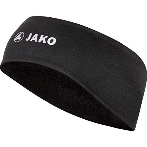 JAKO Unisex Funktion Stirnband, schwarz, 0 (One Size)