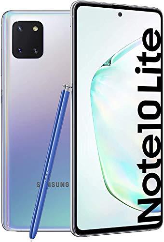 Samsung SM-N770FZSDDBT Galaxy Note10 Lite 128GB 6GB Smartphone Aura Glow - Deutsche Version, Silver