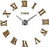 SDLWDQX Reloj de pared de espejo acrílico 3D, reloj de cuar