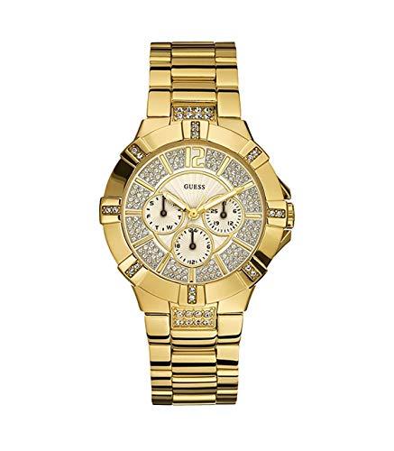 Guess Damen-Armbanduhr Ladies Sport Analog Quarz Edelstahl W13573L1