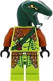 LEGO Ninjago - Figura decorativa de zoltar con hoja dentada