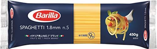 Barilla スパゲッティ No.5 (1.8mm) 450g [正規輸入品] ×5袋