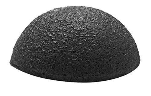 Konjac Schwamm von Baviphat® - Black Clay Sponge - 100 % Natur pur - Reinigung für die Haut