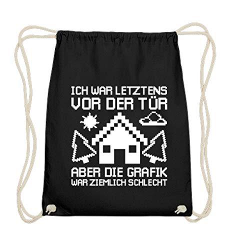 Chorchester Ideal für Gaming Zocker und Nerds - Baumwoll Gymsac