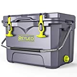 REYLEO Ice Chest | Portable Rotomolded Arctic Cooler Keeps Ice Up to 3 Days | Bear-Resistant...