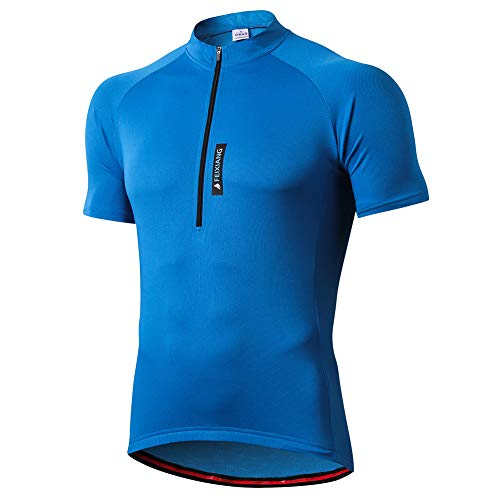 FEIXIANG Maillot Cyclisme Homme, Manche Courte Tenue...