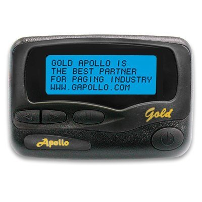 Apollo Programmable Alpha Pager AL–A25 / AF–A25