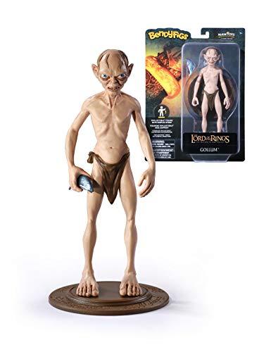 The Noble Collection- Figura Bengyfigs El Señor de los Anillo Gollum (NN2818)