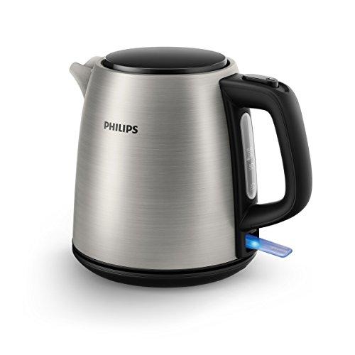 Philips HD9348/10 Wasserkocher, 1 L, 2000 W, edelstahl