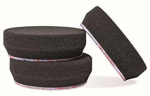 Griot's Garage 11274 3' Black Foam Finishing Pads (Set of 3)