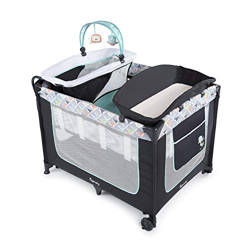 Ingenuity Smart and Simple Packable Portable Playard with Changing Table -...