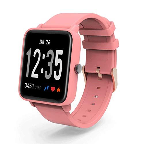 Smart-armband met kleurenscherm, IP68, waterdichte hartslagfrequentie, bloedzuurstofbewaking, sportteller, smart-armband, 1,3 inch (1,3 inch) kleurendisplay, waterdicht, hartslagfrequentie, bloedzuurstofbewaking,