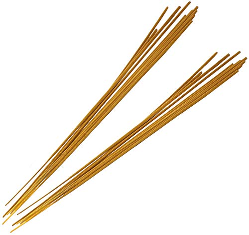 COM-FOUR® 20x wierookstokjes met Citronella-geur in XL, brandduur tot 3 uur, geurstokjes tegen muggen - het alternatief voor de Zitronella-kaars, theelicht (20 stuks - 50 cm)