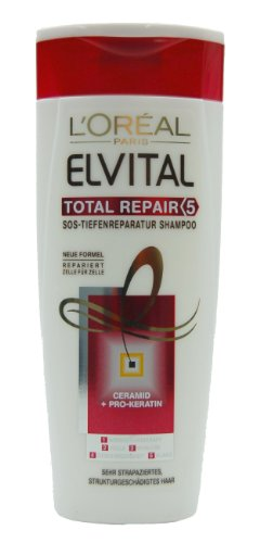 L'Oréal Paris Elvital Total Repair Pflege-Shampoo, 250ml