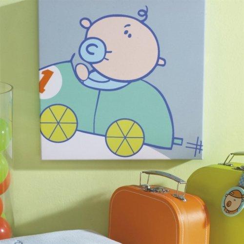 Izziwotnot Goochicoo jouet garçon Toile murale, Racing
