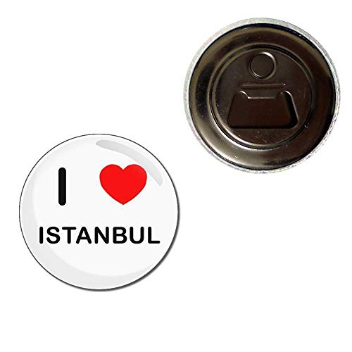 I Love Istanbul - 55mm Kühlschrankmagnet Flaschenöffner