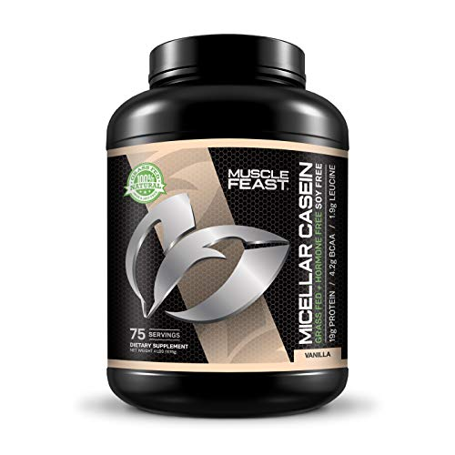 MUSCLE FEAST Grass-Fed Micellar Casein Powder review