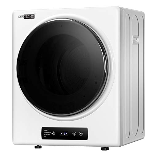 VIVOHOME 110V 800W Electric Compact Portable Clothes Laundry Dryer Machine for Apartment 2.6 cu.ft 9lbs