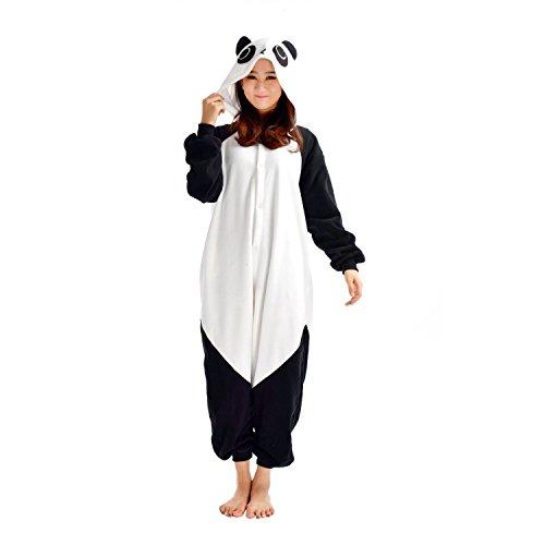 Pijamas Animal Disfraces Pijama Una Pieza Adulto Cosplay Anime Onesie Mujer Hombre Panda