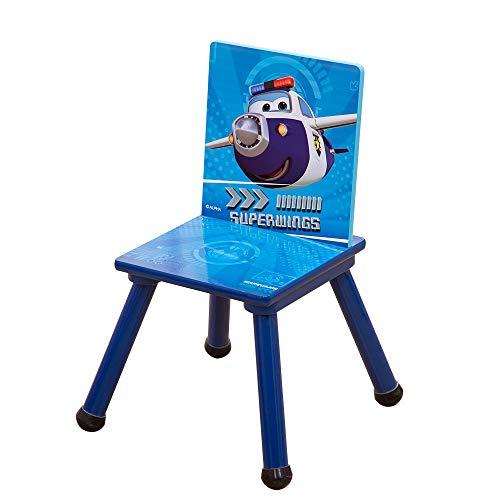 Style home Kinderstuhl Holzstuhl Stuhl für Kinder Holz Super Wings ''Paul'' C3DY002 53x27x27cm