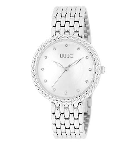 orologio solo tempo donna Liujo Circle Chain classico cod. TLJ1679