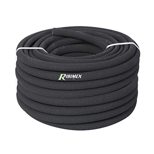 Ribimex PRTP100 Tube tubulaire poreux 100 mètres, noir
