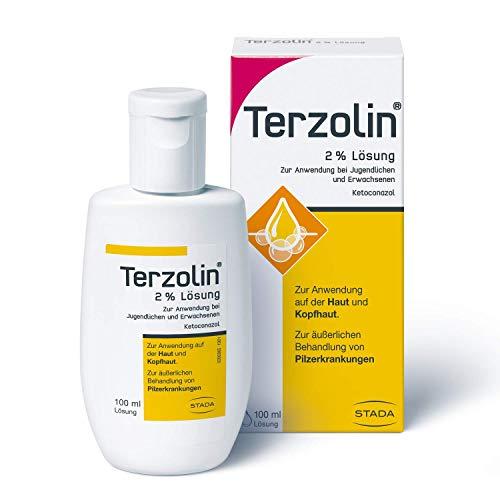 Terzolin medizinische Schuppen-Kur - 2% Lösung zur Anwendung bei Jugendlichen und Erwachsenen - 1 x 100 ml