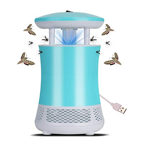 Electronic Mosquito Killer USB Powered LED Inhaler Mosquito Repellent Lamp Bug Zapper Insect Fly Pest Catcher for Indoor Outdoor No Radiation, Ultra-Quiet