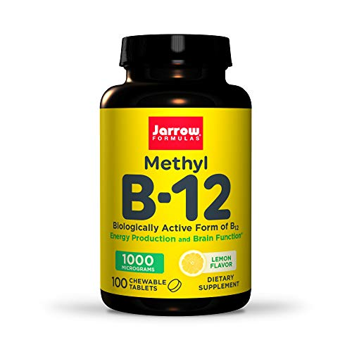 Jarrow Formulas Methyl B12 1,000 mcg Lozenges, 100...